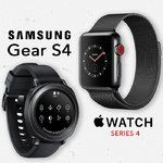 Samsung Gear S4 vs Apple Watch 4th gen: Preliminary design, features, and pricing comparison