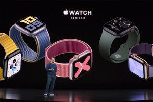 Apple Watch Series 5 is now official: it comes with Always-On screen!