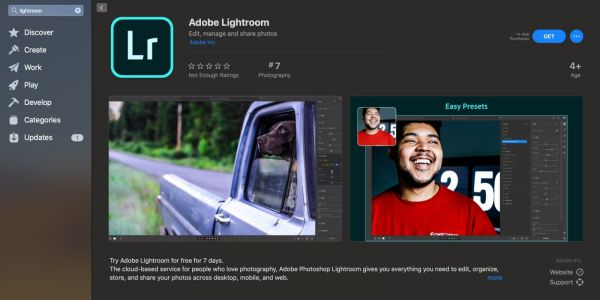 Adobe brings pro Lightroom photo editor to the Mac App Store with free trial and subscriptions