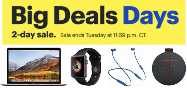 Deals: Up to $500 Off 2017 MacBook Pro at Best Buy and $100 iTunes Gift Cards for $85 at PayPal