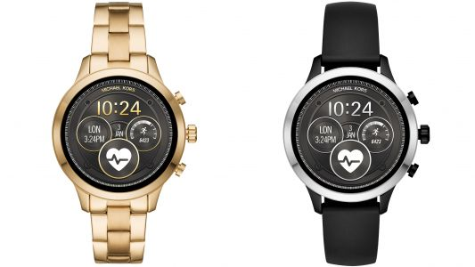 Michael Kors Access Runway smartwatch is the brand's first workout-ready device