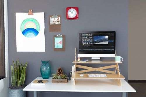 Readydesk Standing Desk: The Quick and Cheap Standing Desk
