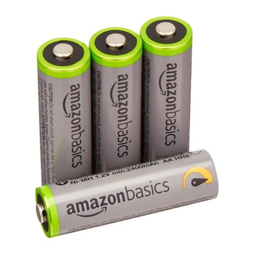 Keep your gear powered up with this 4-pack of rechargeable batteries for $8
