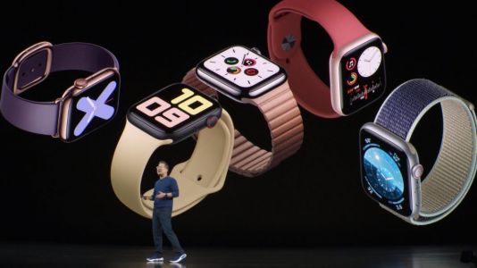 Apple unveils Apple Watch Series 5 with always-on display