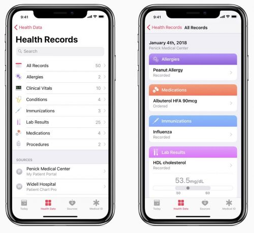 Health Records Firm Epic and About 60 Client Hospitals Object to Data Sharing Rules Supported by Apple