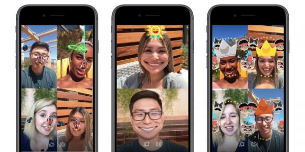 Facebook Introduces AR Games To Messenger Video Chats