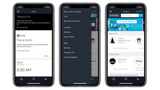 Amazon updates its Alexa companion app for iOS with iPhone X optimization