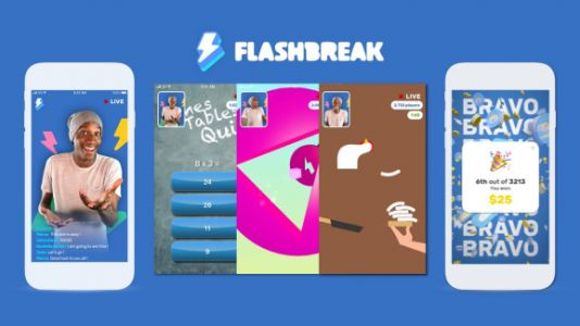 Flashbreak raises $2 million for live mobile game competitions with real-money rewards