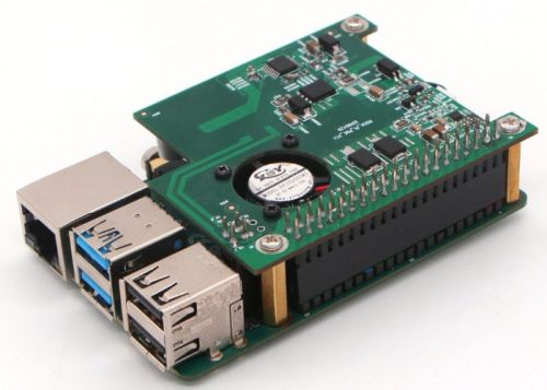Rock Pi Poe HAT supports Pi 3 and Rock Pi 4