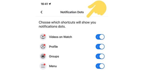 Facebook iOS and Android apps test letting you turn off annoying red dots