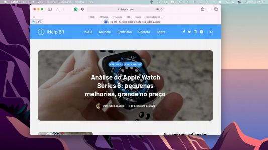 MacOS Big Sur: How to translate websites with Safari