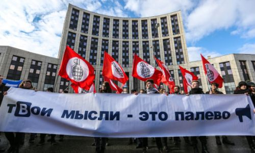 Russians protest against tighter internet restrictions
