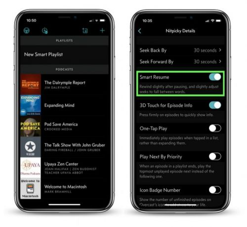 Overcast for iOS Updated With Smart Resume Feature and 24-Hour Auto-Delete Option