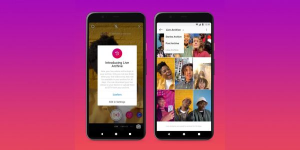 Instagram increases Live video limit to 4 hours, debuts Live Archive save feature