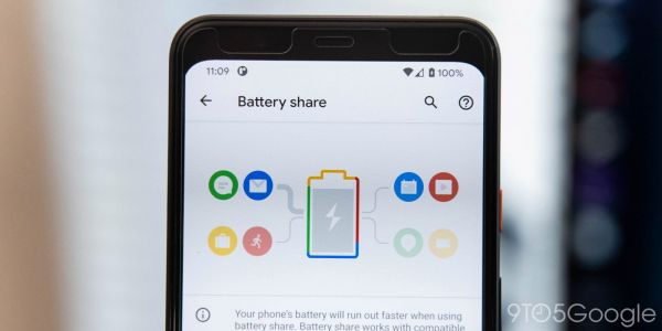 Android 11 DP1: 'Battery Share' hints at Pixel 5 w/ reverse wireless charging, 'redfin'