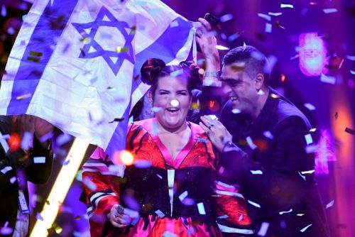 Dutch TV Spoofs Israel's Eurovision-Winning Song with Anti-Semitic Parody