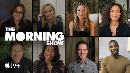 Cast and crew of 'The Morning Show' discuss the series on a virtual panel
