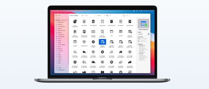 Apple debuts SF Symbols 3 with over 600 new icons, hierarchical color customization, and inspector