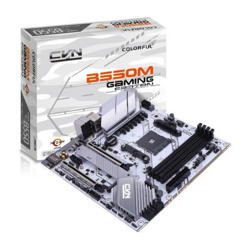 Colorful Announces Two sub-$130 micro-ATX B550 Motherboards