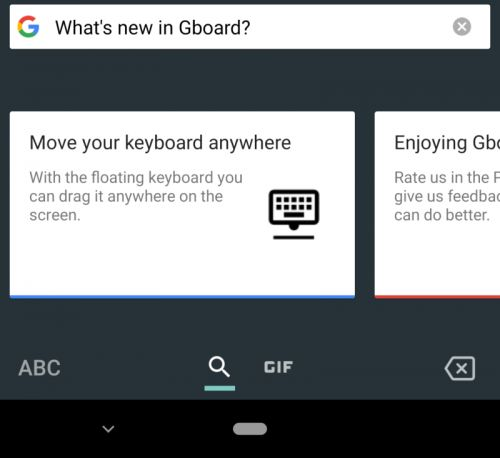Google Testing Floating Keyboard In Gboard Beta v7.6