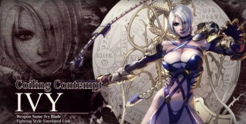 Ivy is back for Soulcalibur VI and she's still mostly boobs and butt