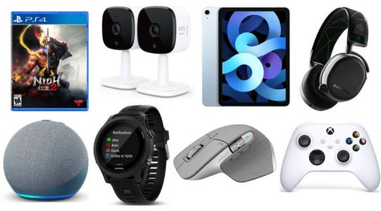 Today's best tech deals: iPad Air, indoor security cameras, and more