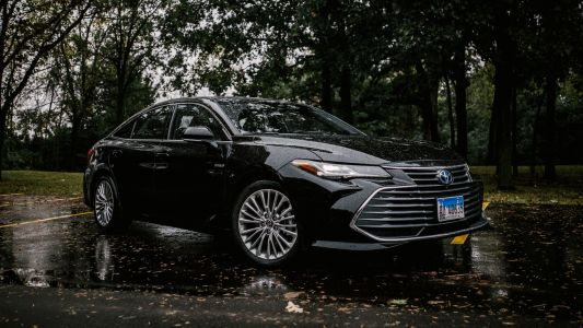 The animated around-view camera on the 2019 Toyota Avalon might freak you out