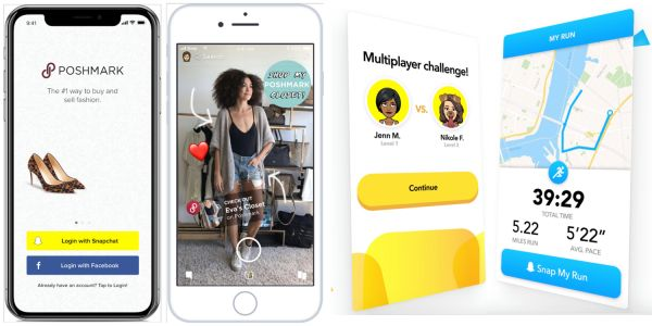Snapchat confirms four APIs, allowing use of Bitmoji avatar in other apps and more