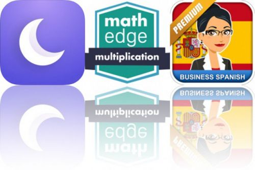Today's Apps Gone Free: Cosmicast, MathEdge and MosaLingua Business Spanish