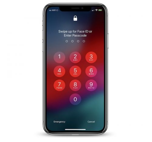 IOS 12 Beta Supports Easy Face ID Rescans With Swipe Up Gesture on iPhone X