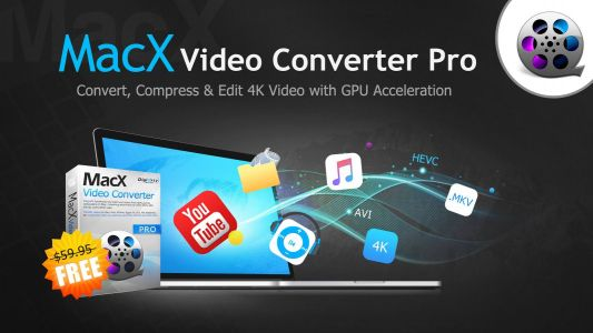 MacX Video Converter Pro Giveaway - Convert, Resize, Cut, and Download Videos easily and Fast