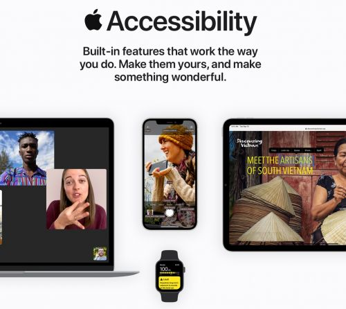 Apple Launches Redesigned Accessibility Site and New Support Videos