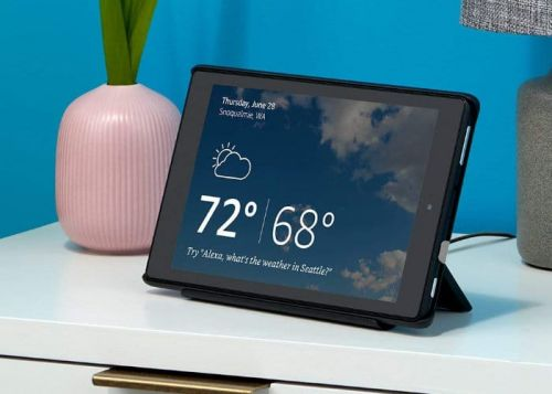 Amazon Show Mode Dock Transforms Fire Tablet Into Echo Show Devices