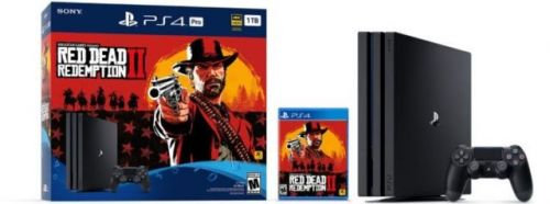 Red Dead Redemption 2 PS4 Pro Bundle Announced