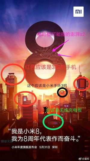 Xiaomi Mi 8 Launch Poster Hints At Mi Band 3 Arrival & More
