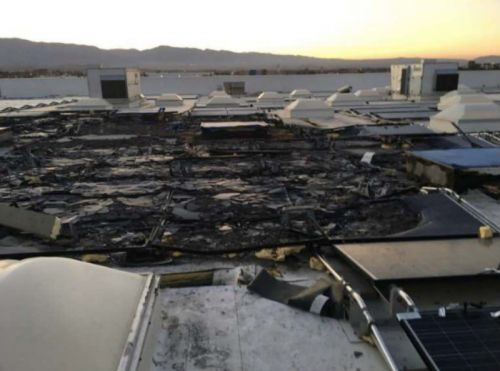 Tesla working to resolve dispute with Walmart over solar panel fires