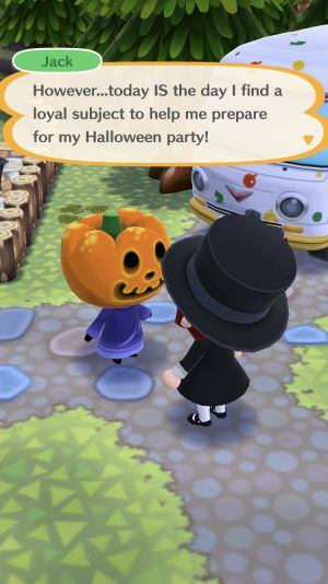 Halloween Comes Early in 'Animal Crossing: Pocket Camp'