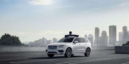 Uber's self-driving AI predicts the trajectories of pedestrians, vehicles, and cyclists