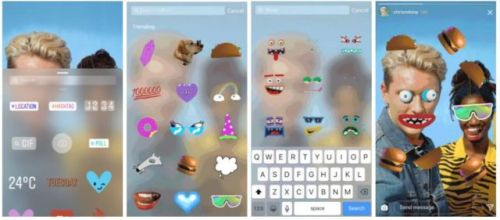 Instagram Teams Up With GIPHY For GIF Stickers