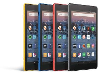 Amazon just unveiled its new Fire HD 8 tablets