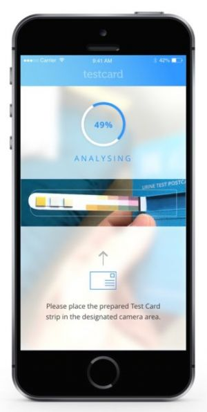 TestCard Uses Your iPhone To Perform Urinalysis