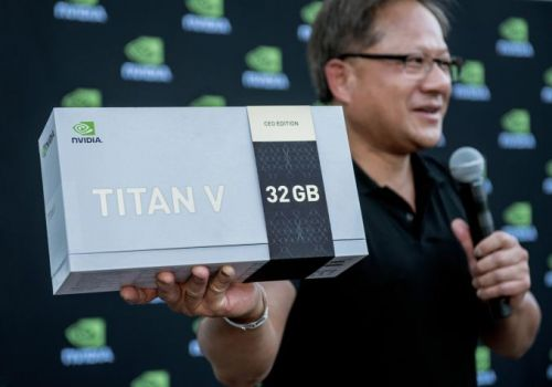 """NVIDIA Unveils & Gives Away New Limited Edition 32GB Titan V """"CEO Edition"""""""
