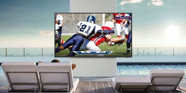 Samsung unveils 'Terrace' 4K outdoor smart TV with Apple TV and AirPlay 2