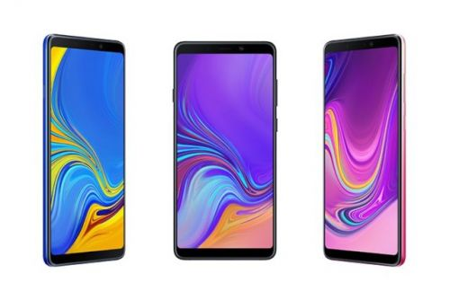 Samsung Galaxy A9 With Quad Camera Setup Launched