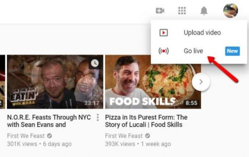 YouTube Now Lets You Stream Live From Desktop