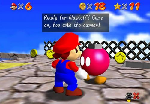 How to Blast Away the Wall in Super Mario 64