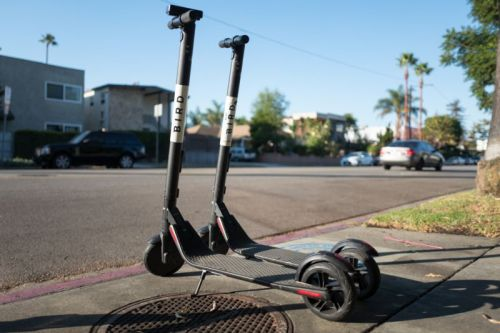 Electric scooter users aren't wearing helmets-the head injury rate proves it