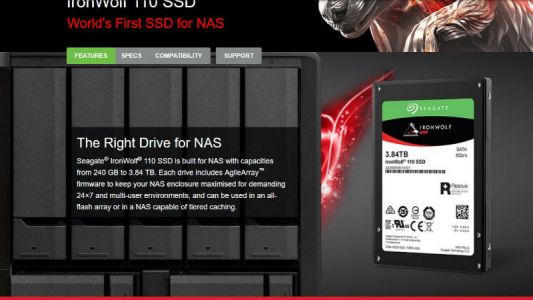 Seagate unveils new NAS-oriented SSD