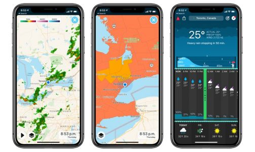 CARROT Weather hits version 4.7, brings with it nine new maps and other features