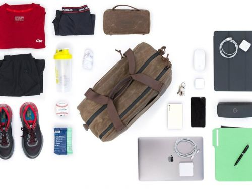WaterField's new athletic bag holds it all